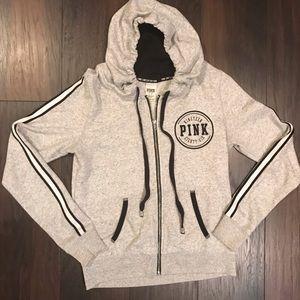 Pink Victoria's Secret limited edition zip hoodie